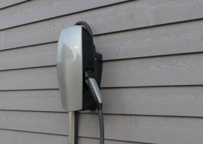 Elektrotankstelle an unserem Ferienhaus